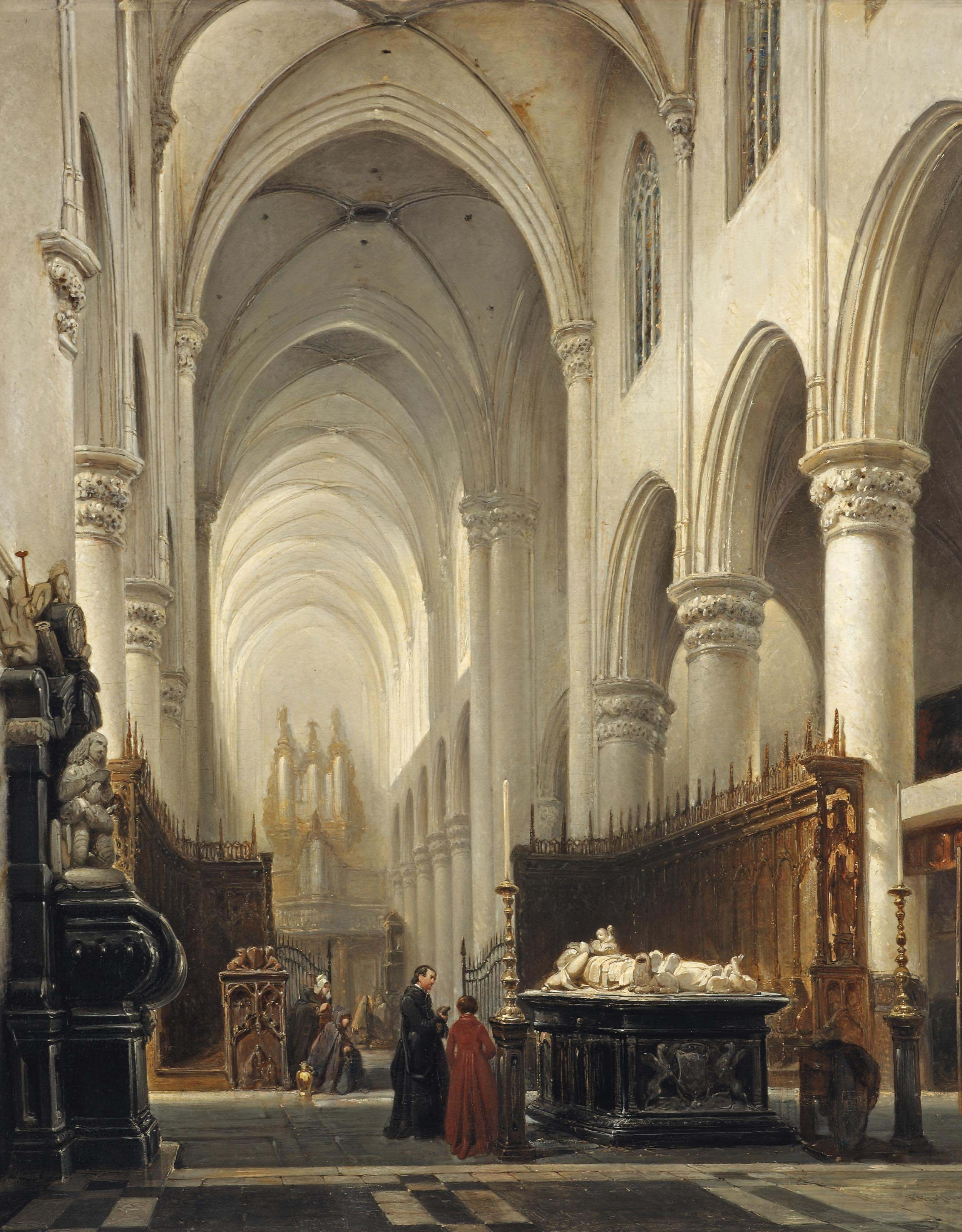 Johannes Bosboom (The Hague 1817-1891)