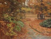 Herfst (Ewijkshoeve): Ewijckshoeve in the fall
