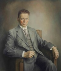 Portrait of Hugo van Manen