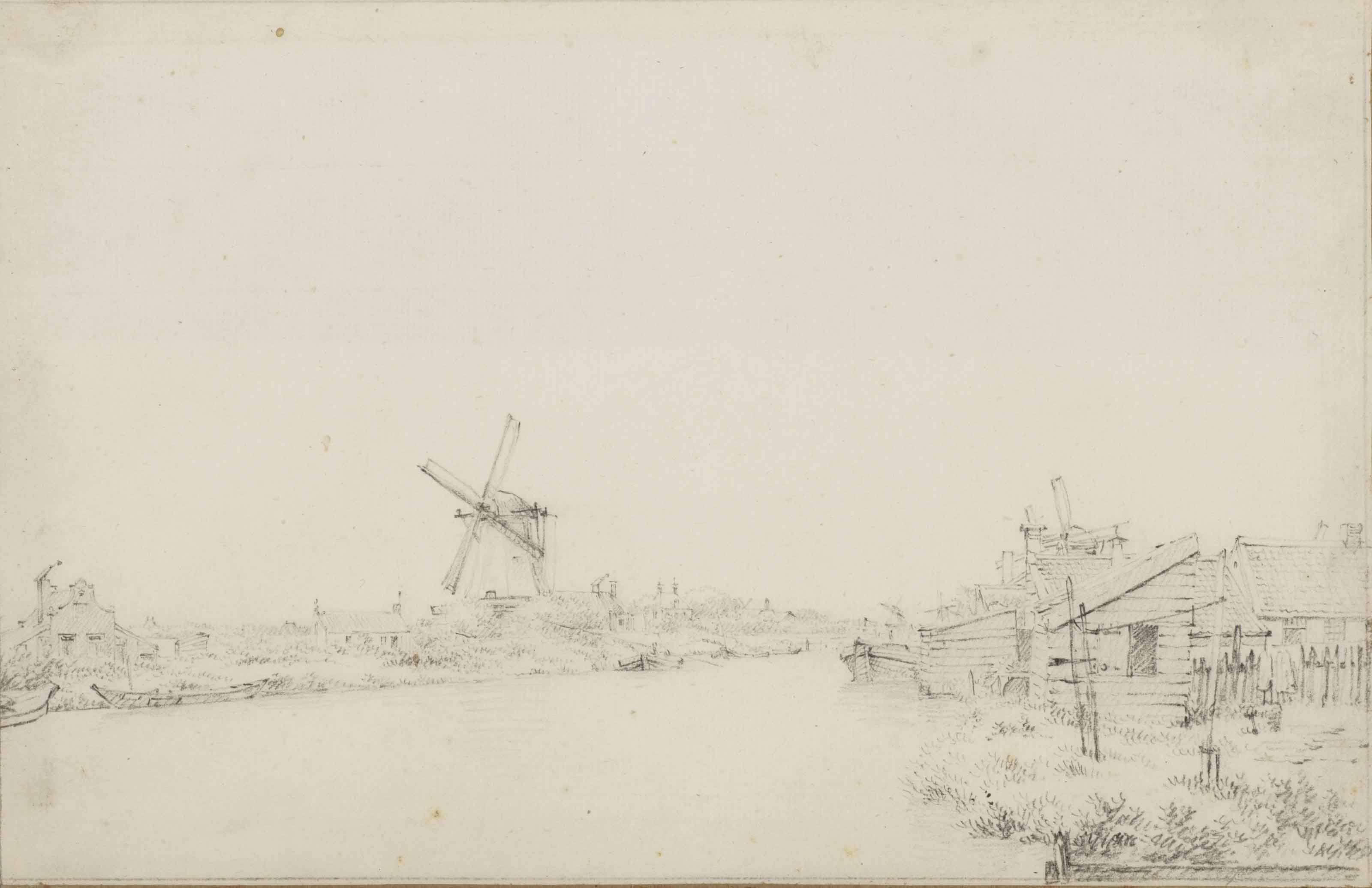 View of De Wetering near Amsterdam