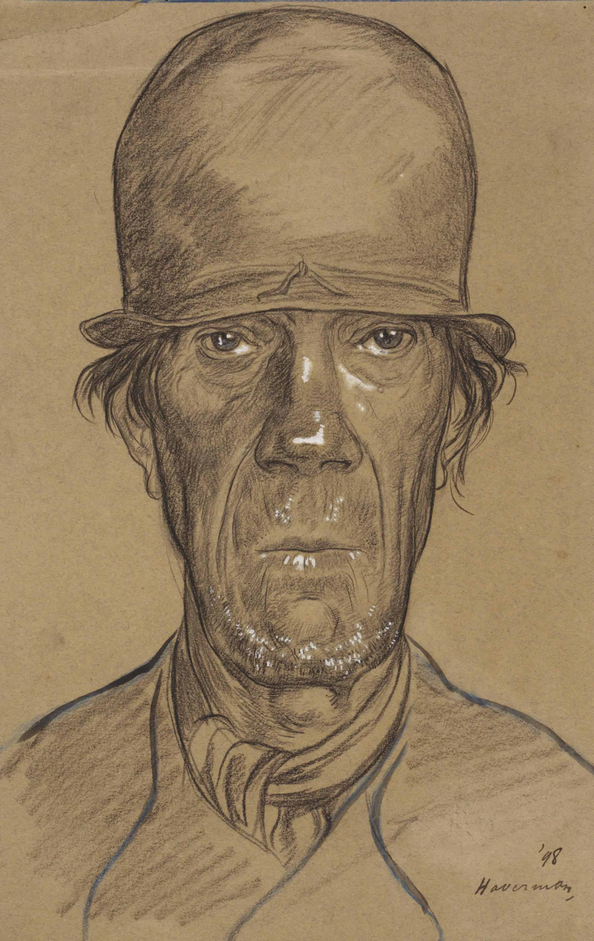 Portrait of a farmer, possibly from Zeeland