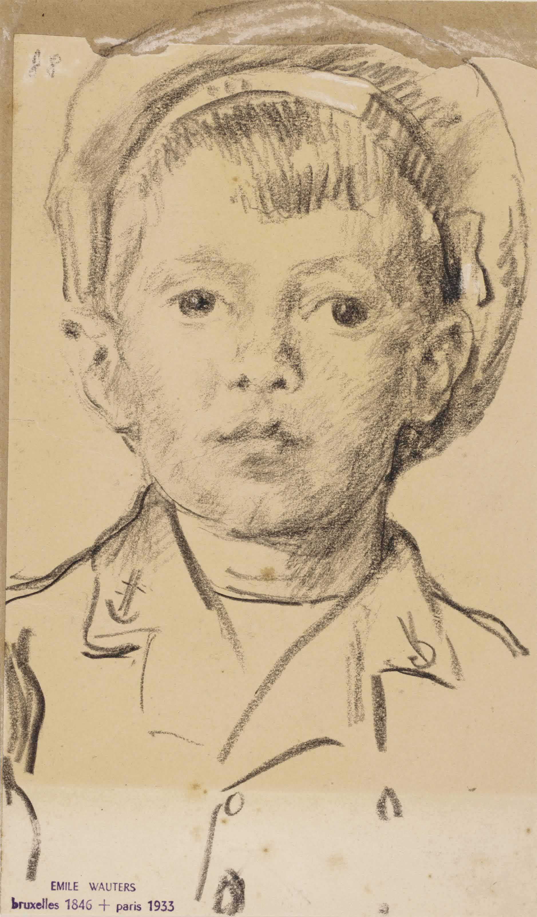 Emile Wauters (Brussels 1846-1933 Paris)