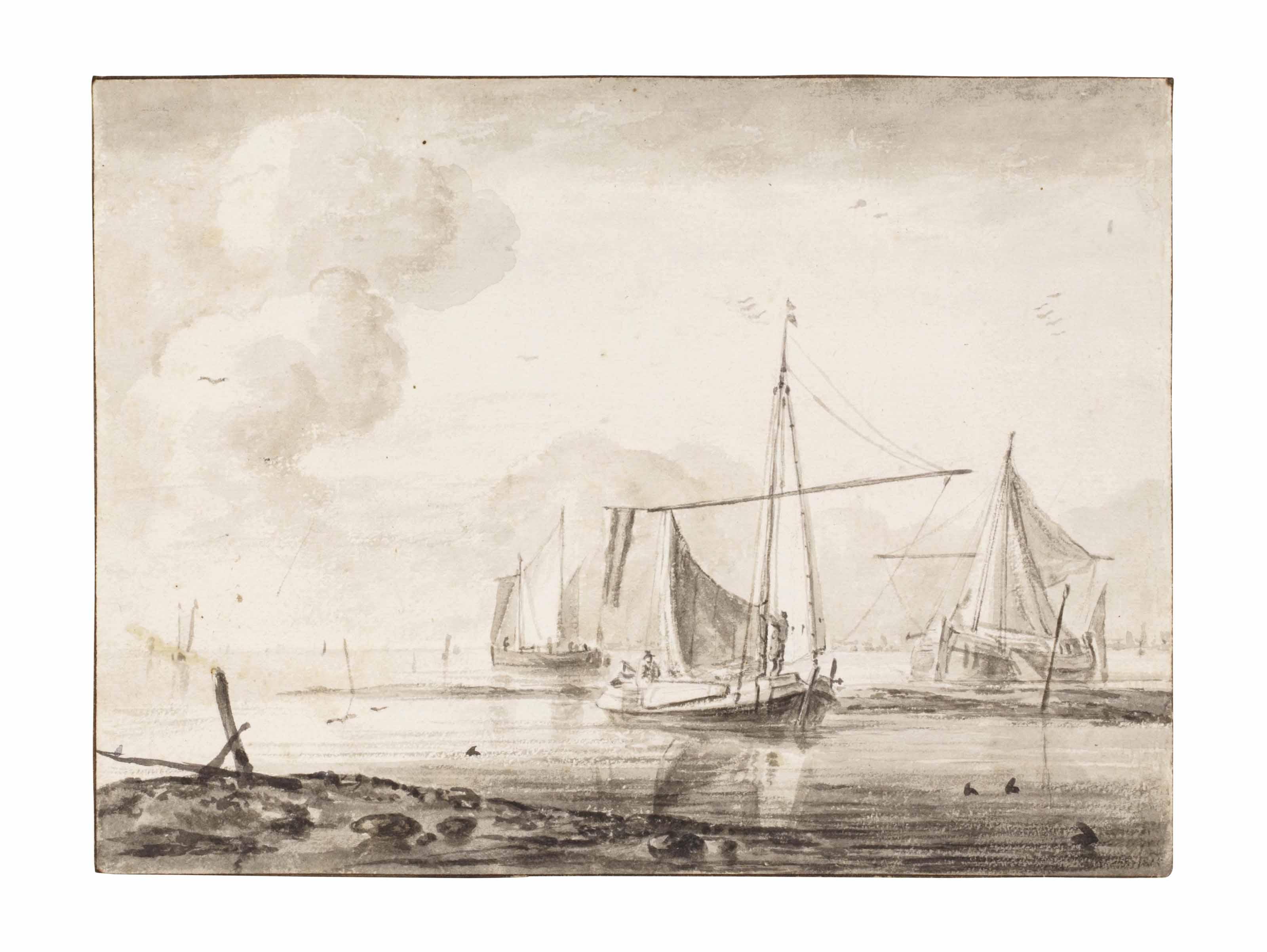 Attributed to Simon de Vlieger (Rotterdam 1600/01-1653 Weesp)