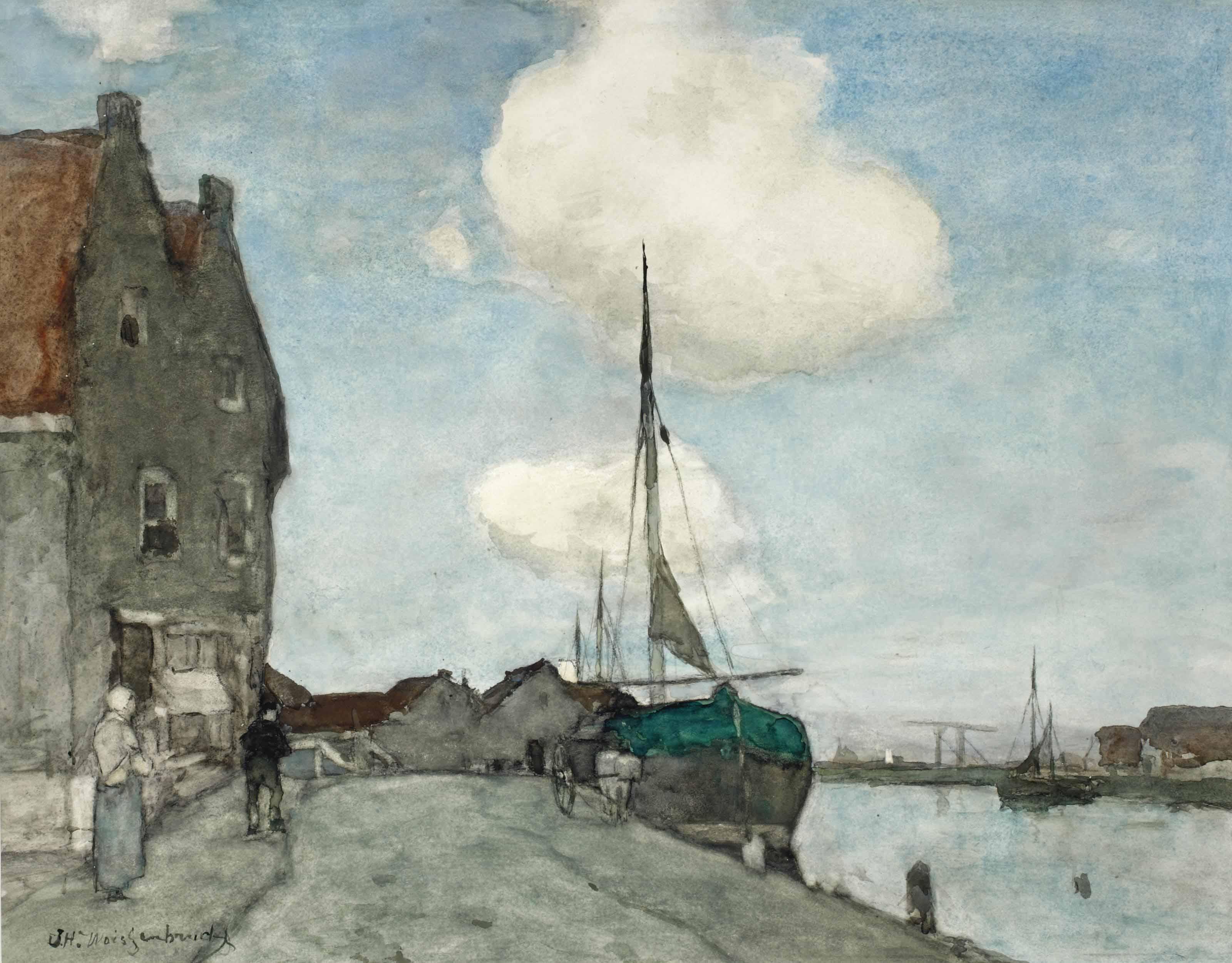 A waterway near Haarlem