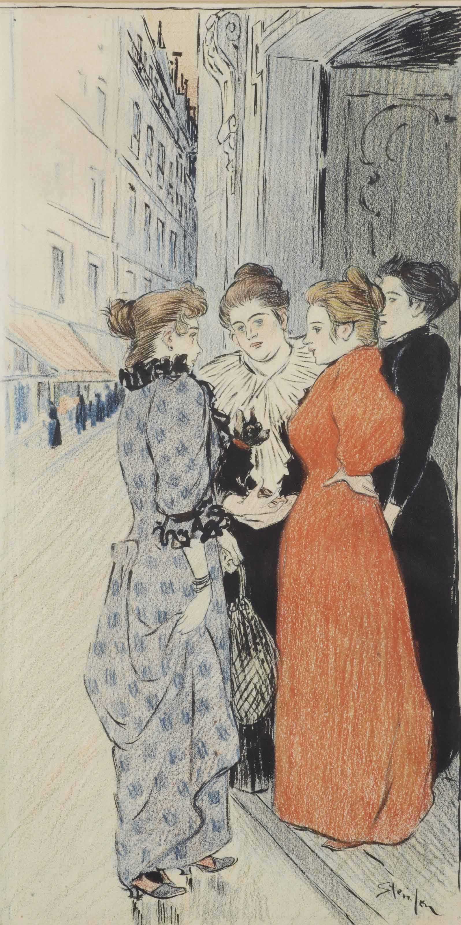 Theophile Alexandre Steinlen (Lausanne 1859-1923 Paris)