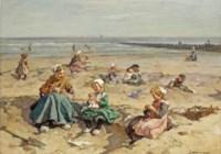 A summer's day at the beach, Scheveningen