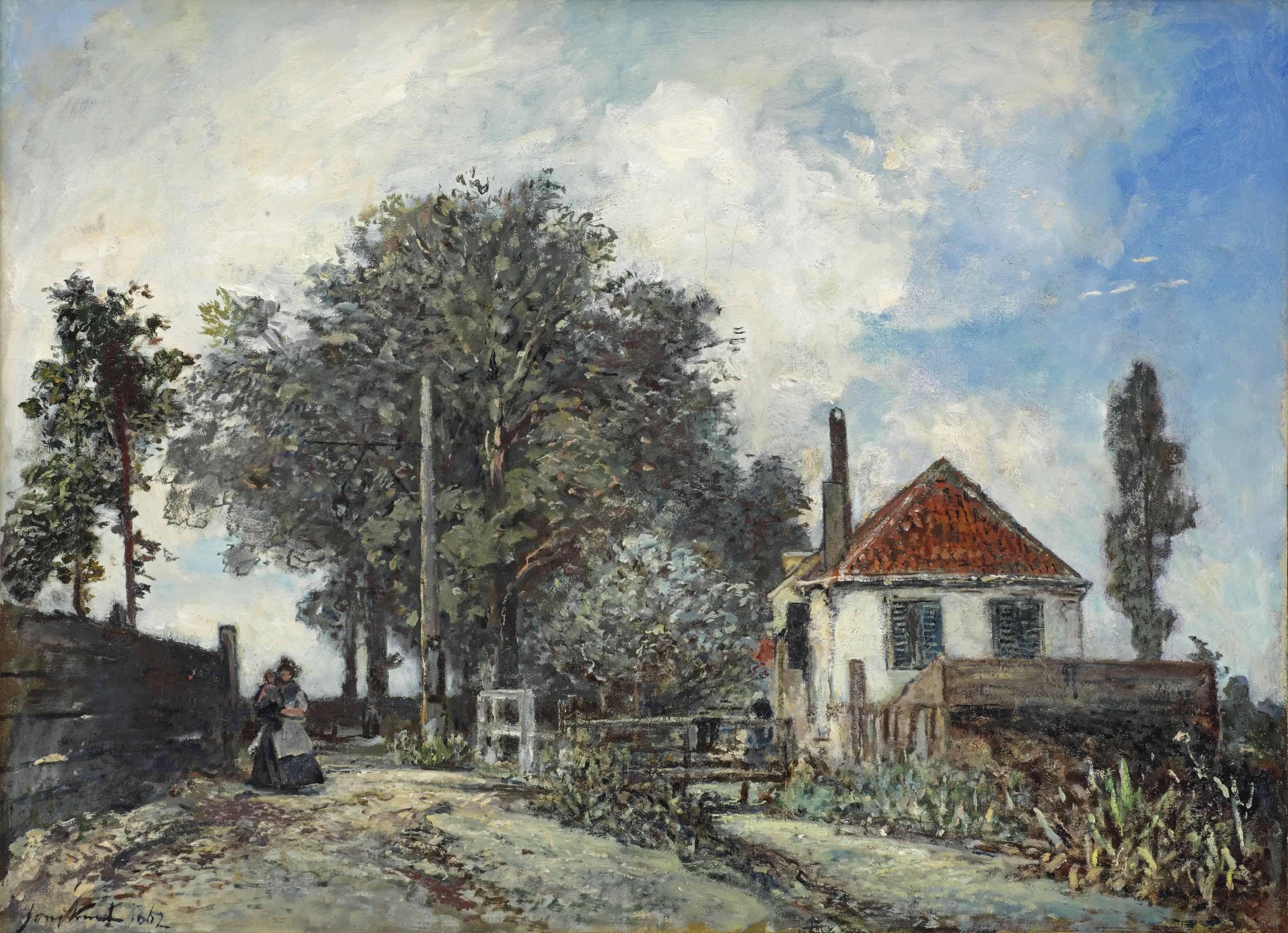 Johan Barthold Jongkind (Lattrop 1819-1891 La Côte-Saint-André)
