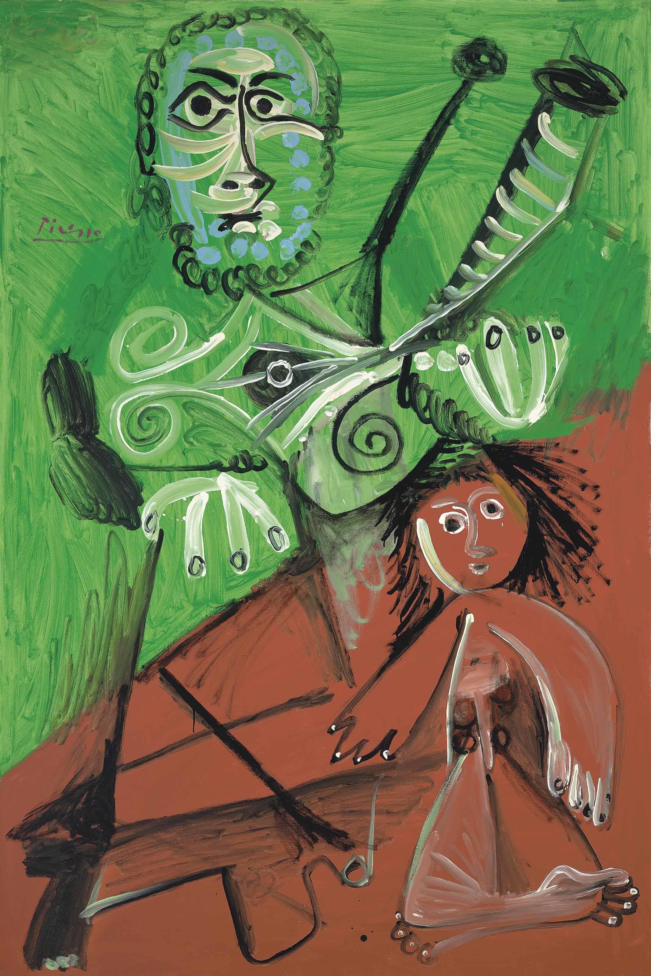 Audio: Pablo Picasso, Homme et enfant