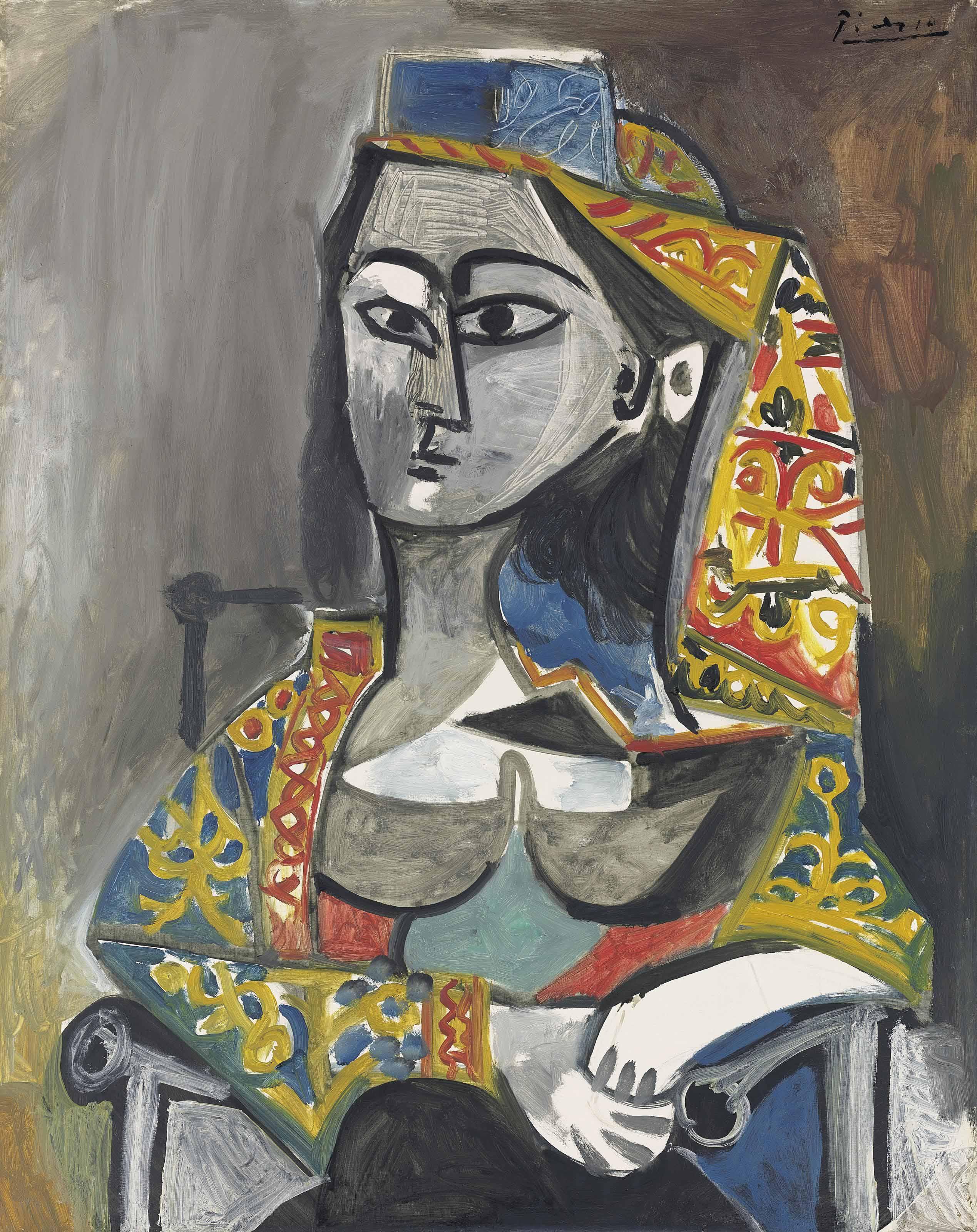 Audio: Pablo Picasso, Femme au costume turc dans un fauteuil