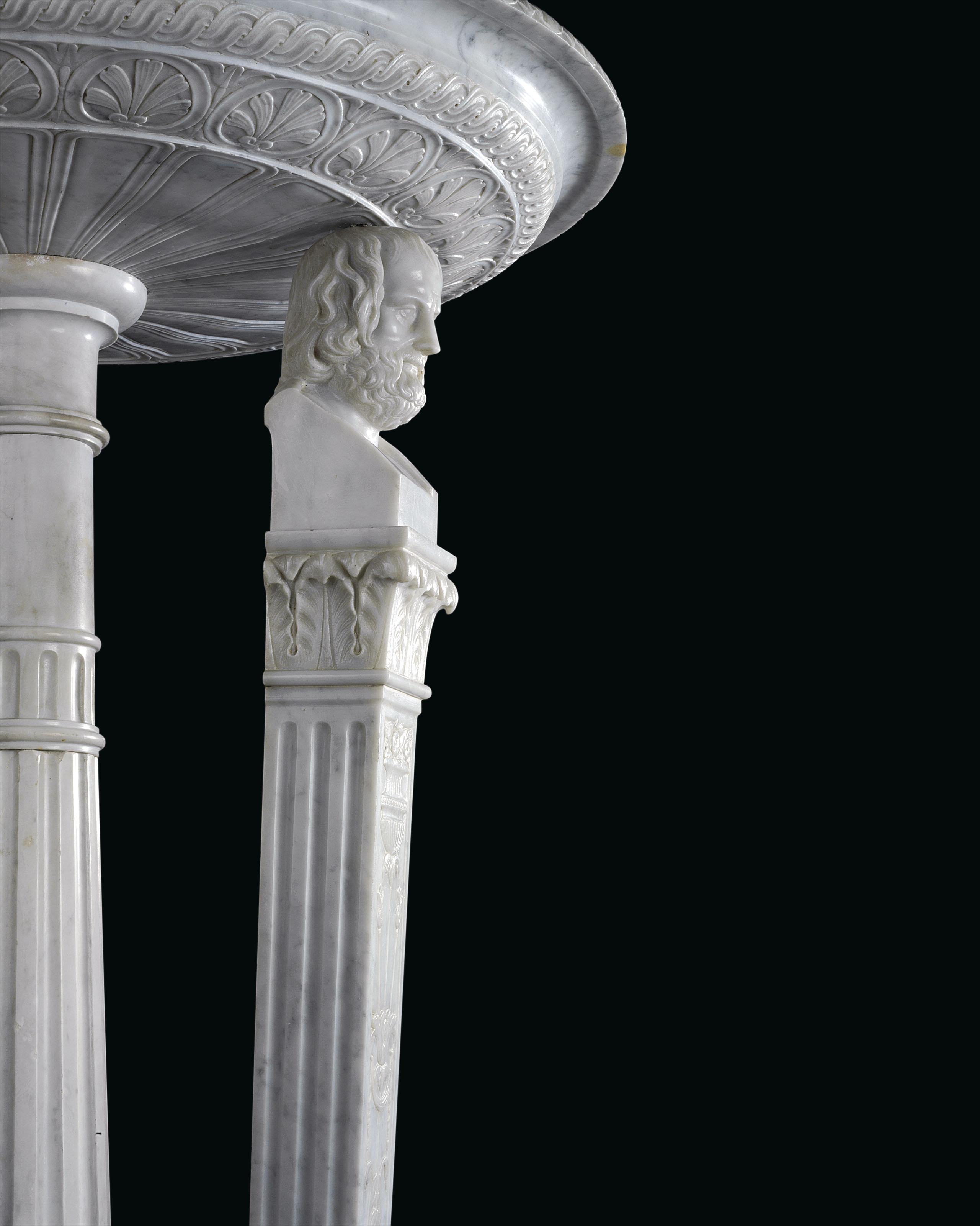 Asia Carrera Marble a monumental italian white carrera marble athenienne | late