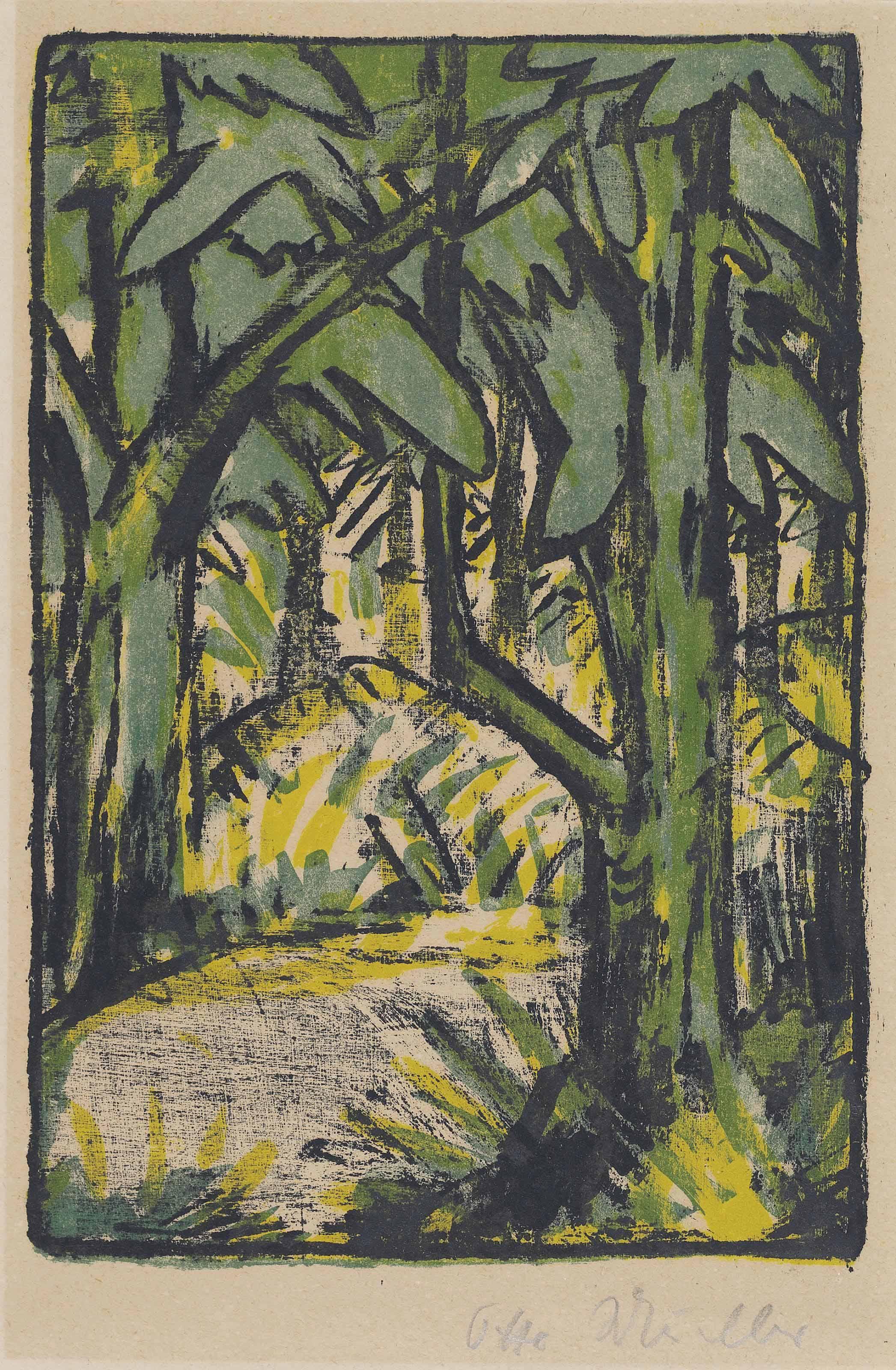 Waldlandschaft (Karsch 152)