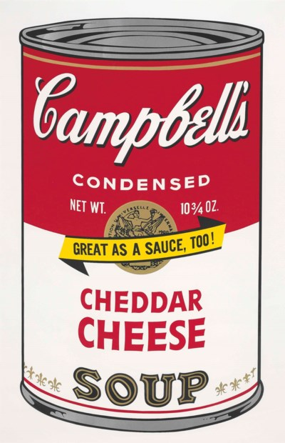 Cheddar Cheese, from: Campbell