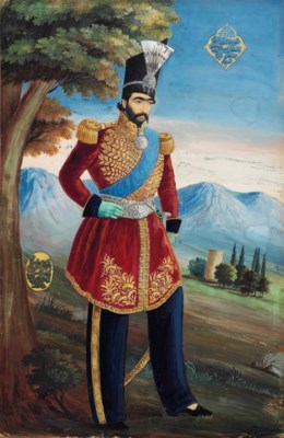 THE YOUNG NASIR AL-DIN SHAH QA