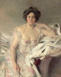 Portrait of Lady Nanne Schrader, née Wiborg