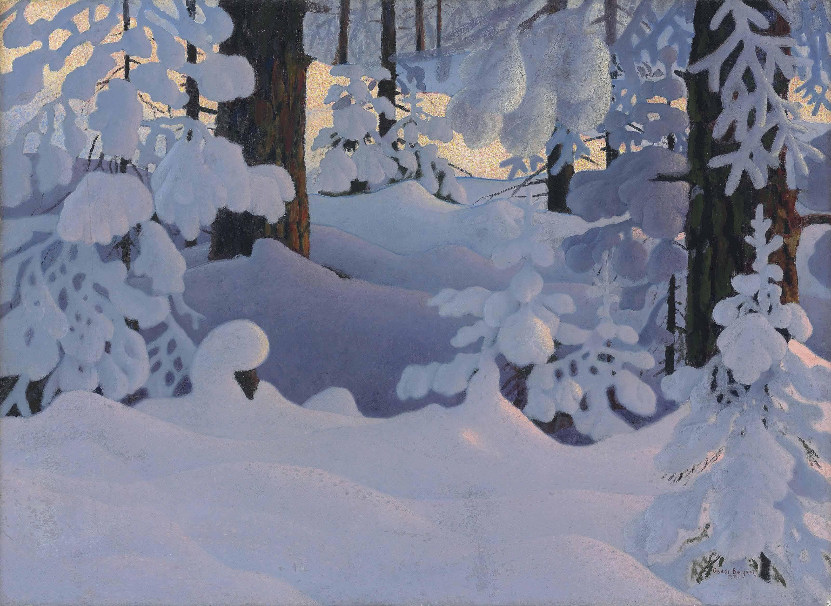 Oskar Bergman (Swedish, 1879-1963)