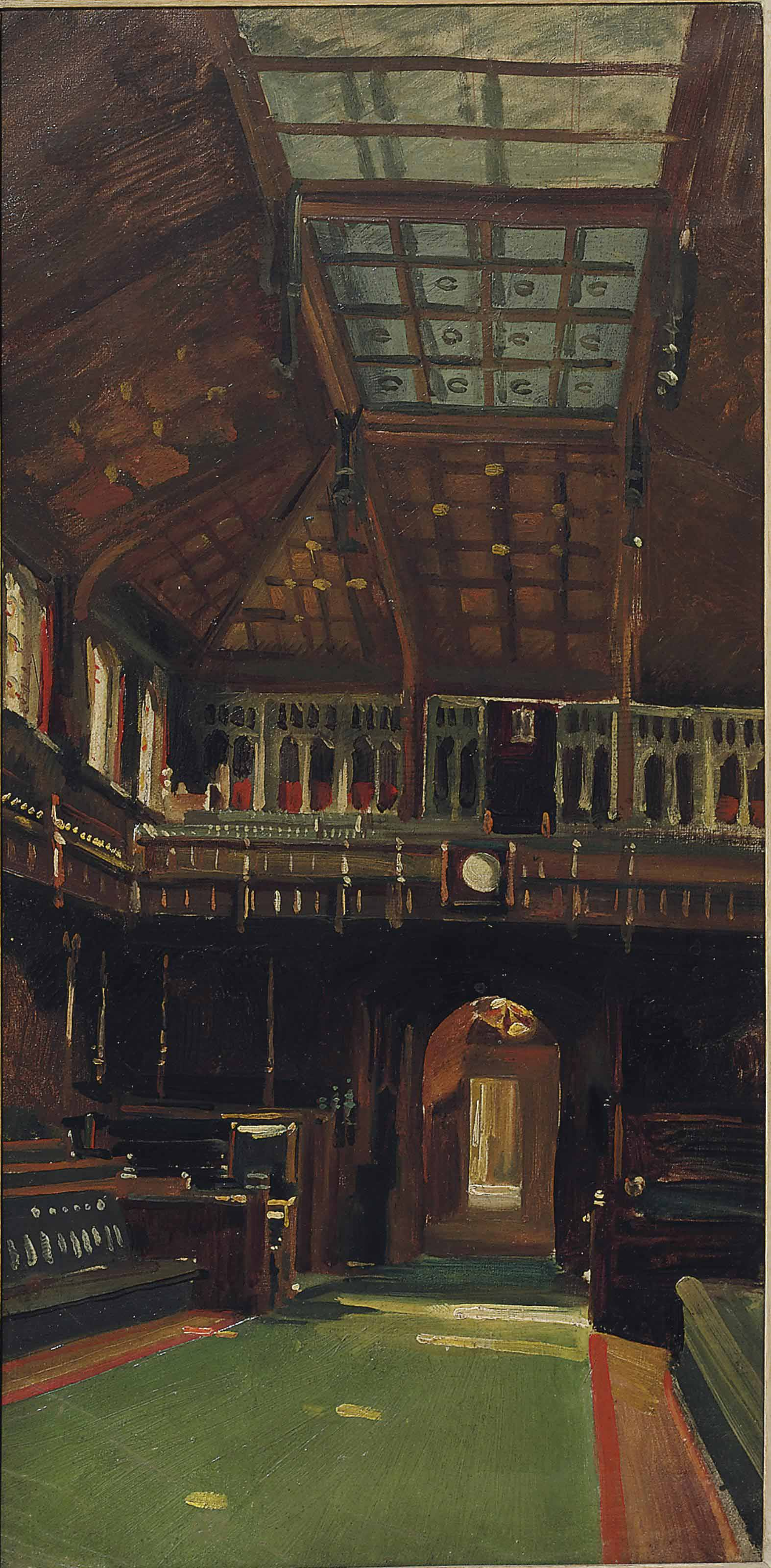 Interior of the House of Commons