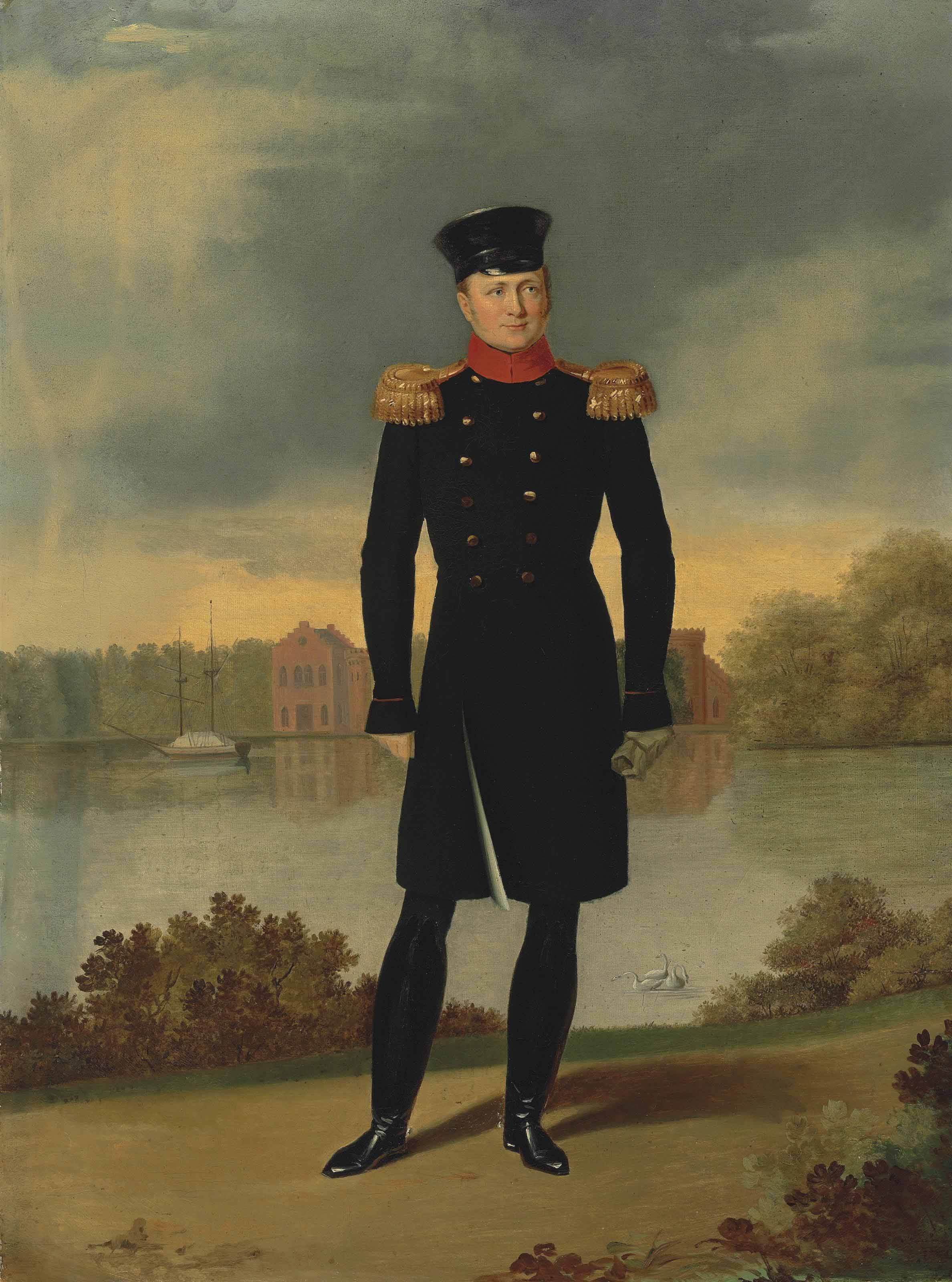 Portrait of Tsar Alexander I (1777-1825)