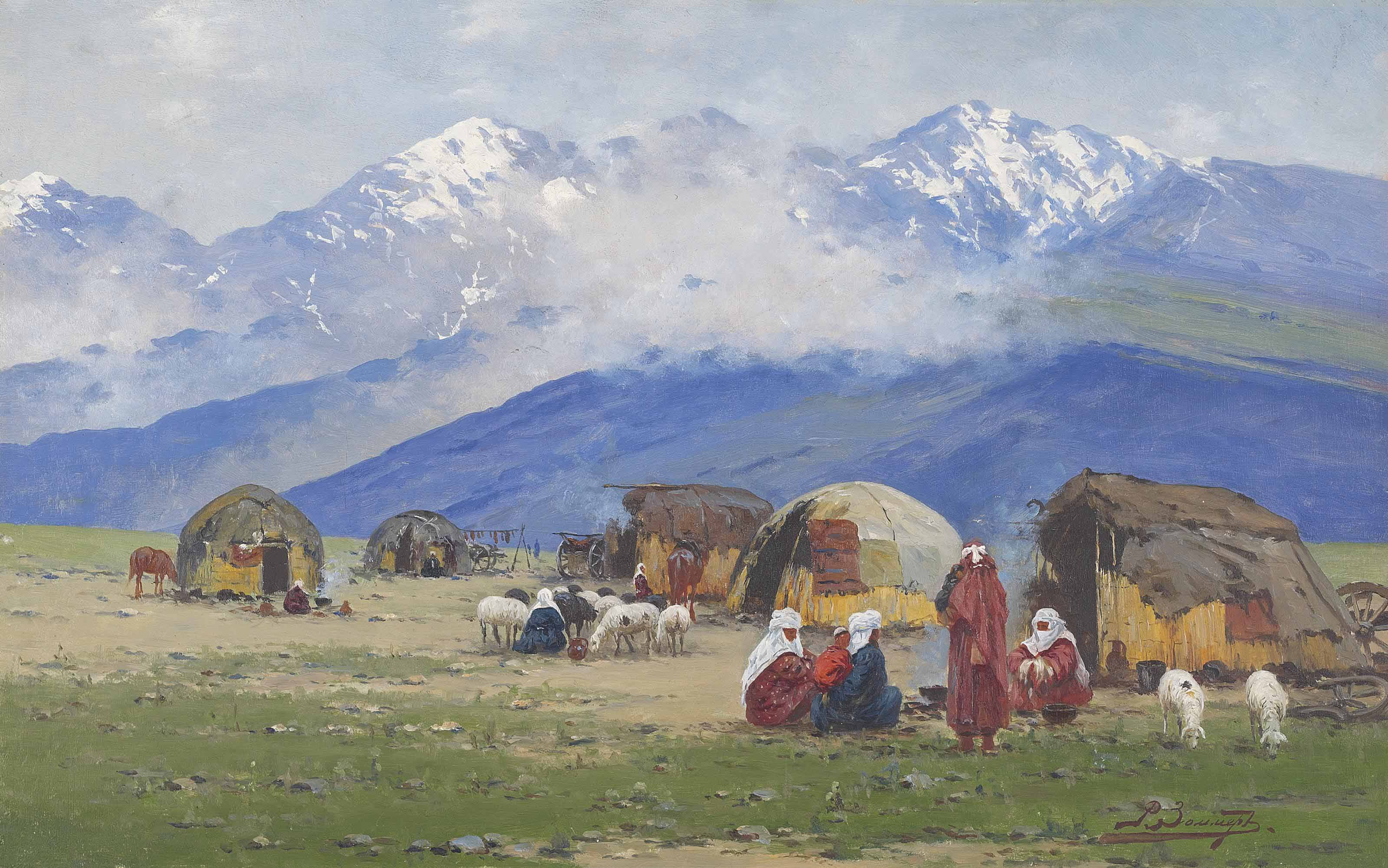 Kyrgyz, Turkestan