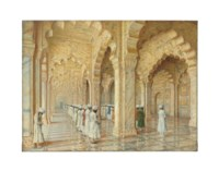 The Pearl Mosque at Agra