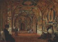The Portico of a 17th Century Church in Yaroslavl