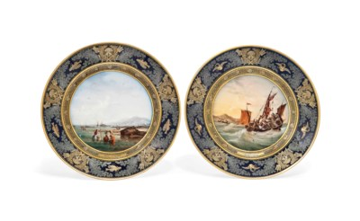 A PAIR OF SEVRES (HARD PASTE)