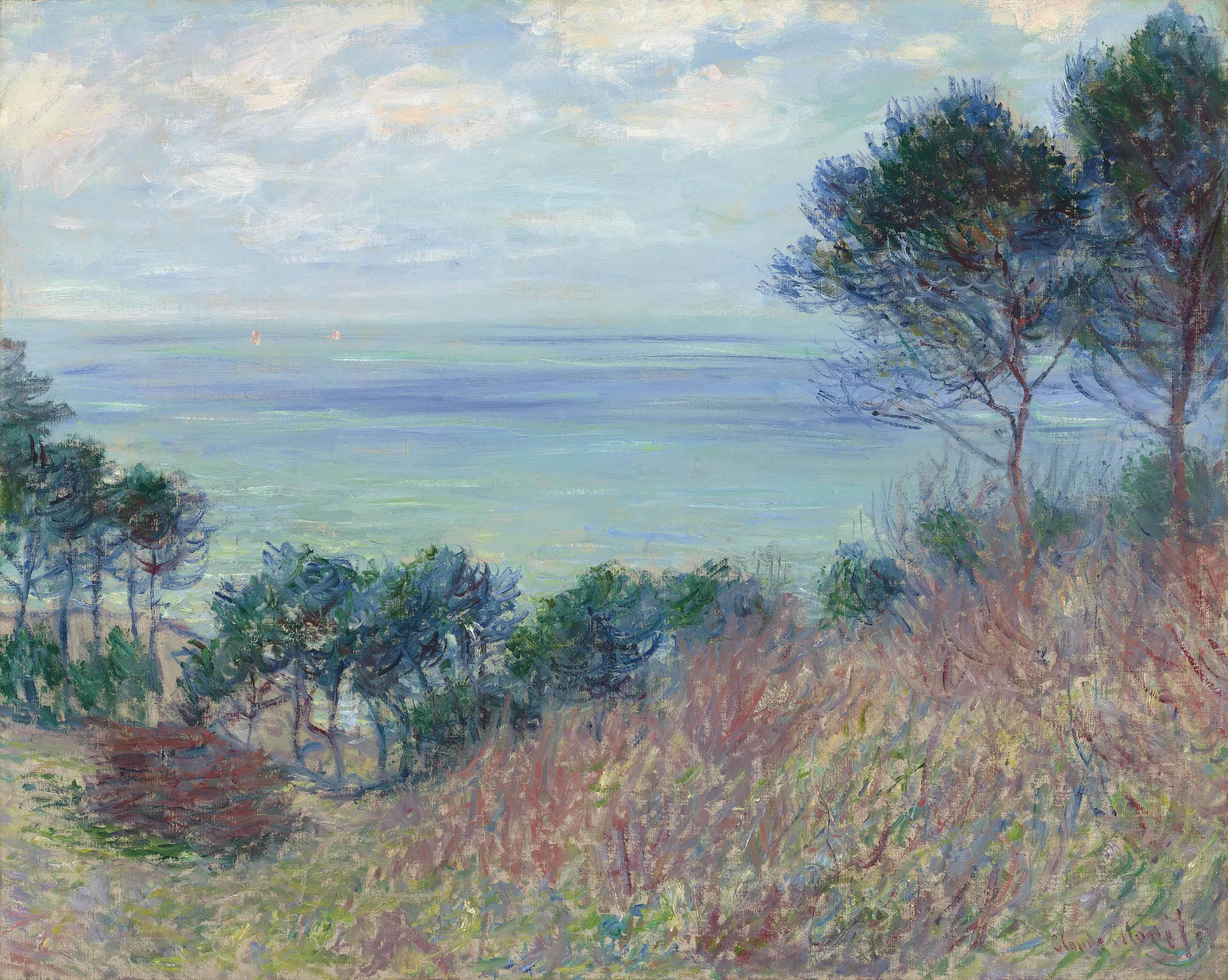 Claude Monet (1840-1926) | La côte de Varengeville | 20th Century,  Paintings | Christie's