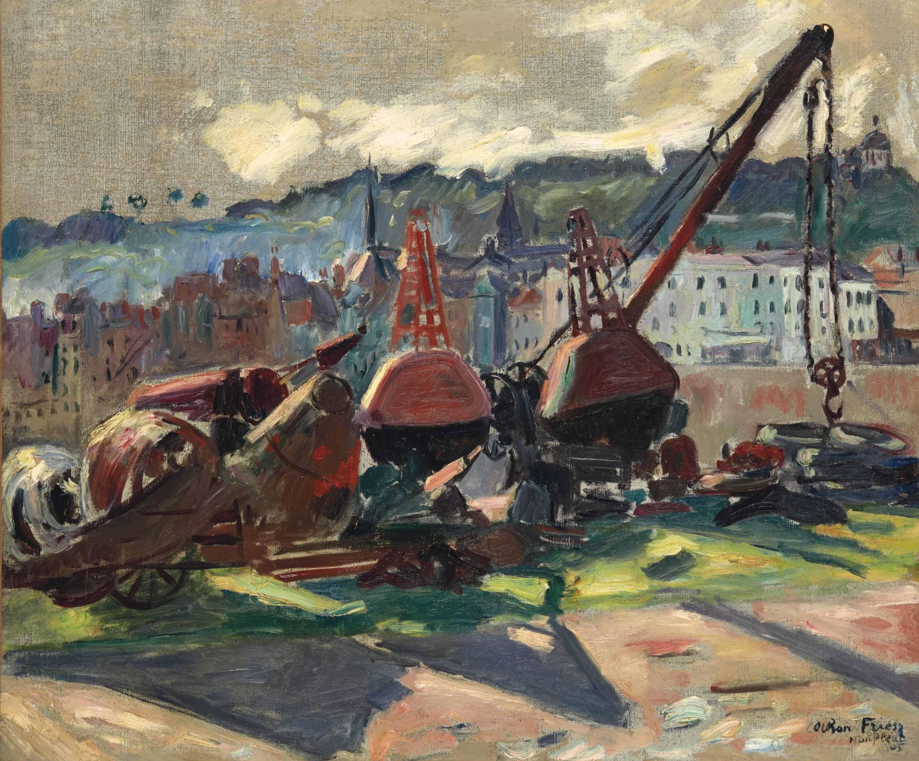 Port de Honfleur, Bouée Honfleur