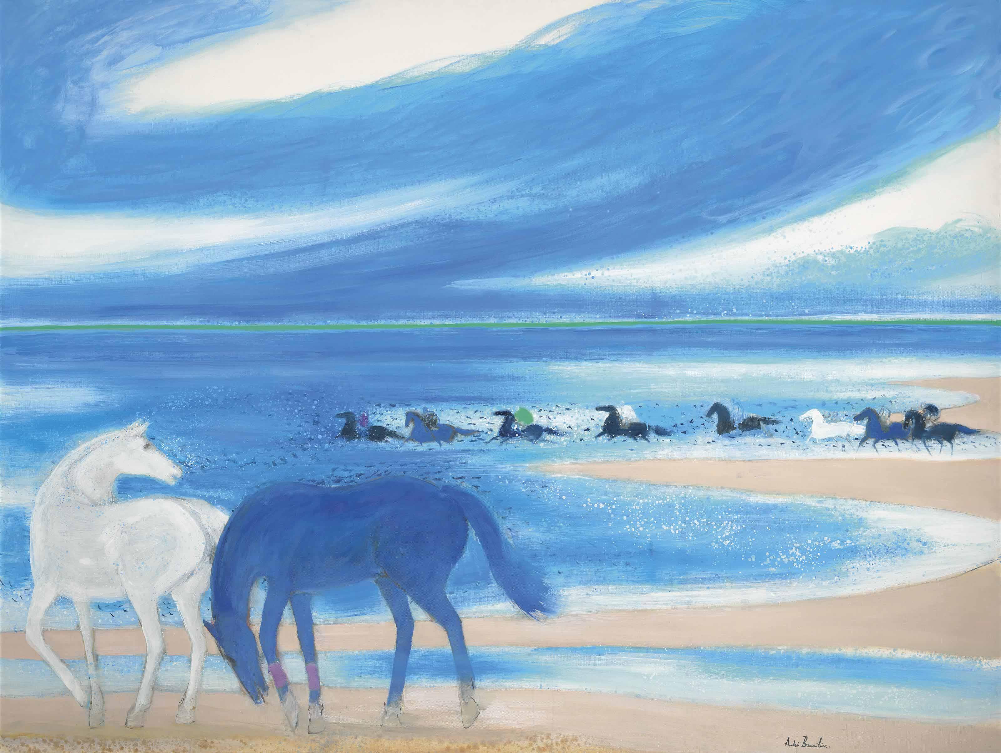 Grand rivage bleu