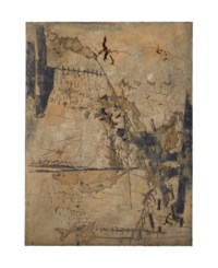 Gran ocra amb incisions (Large Ochre with Incisions)