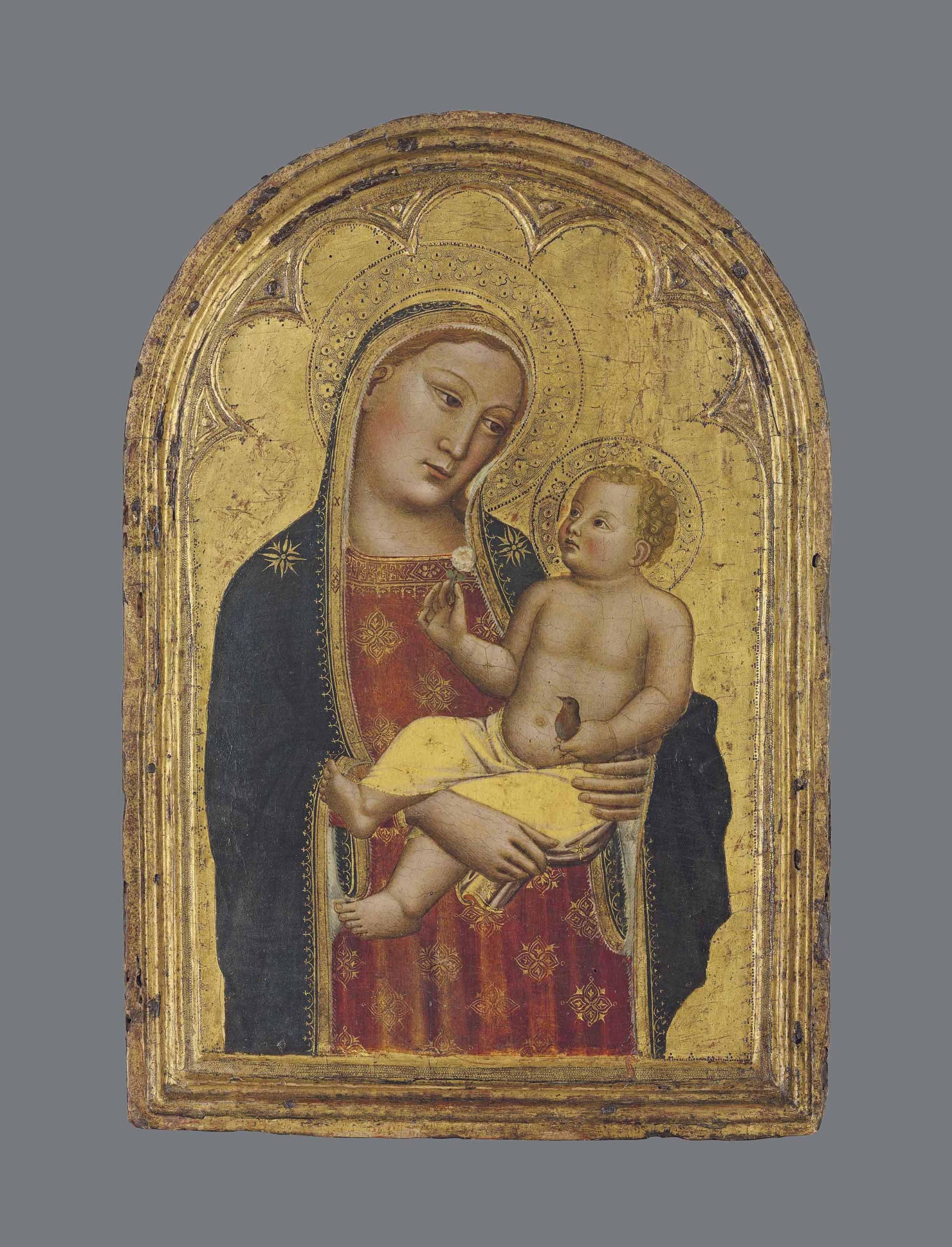 The Madonna and Child with a goldfinch