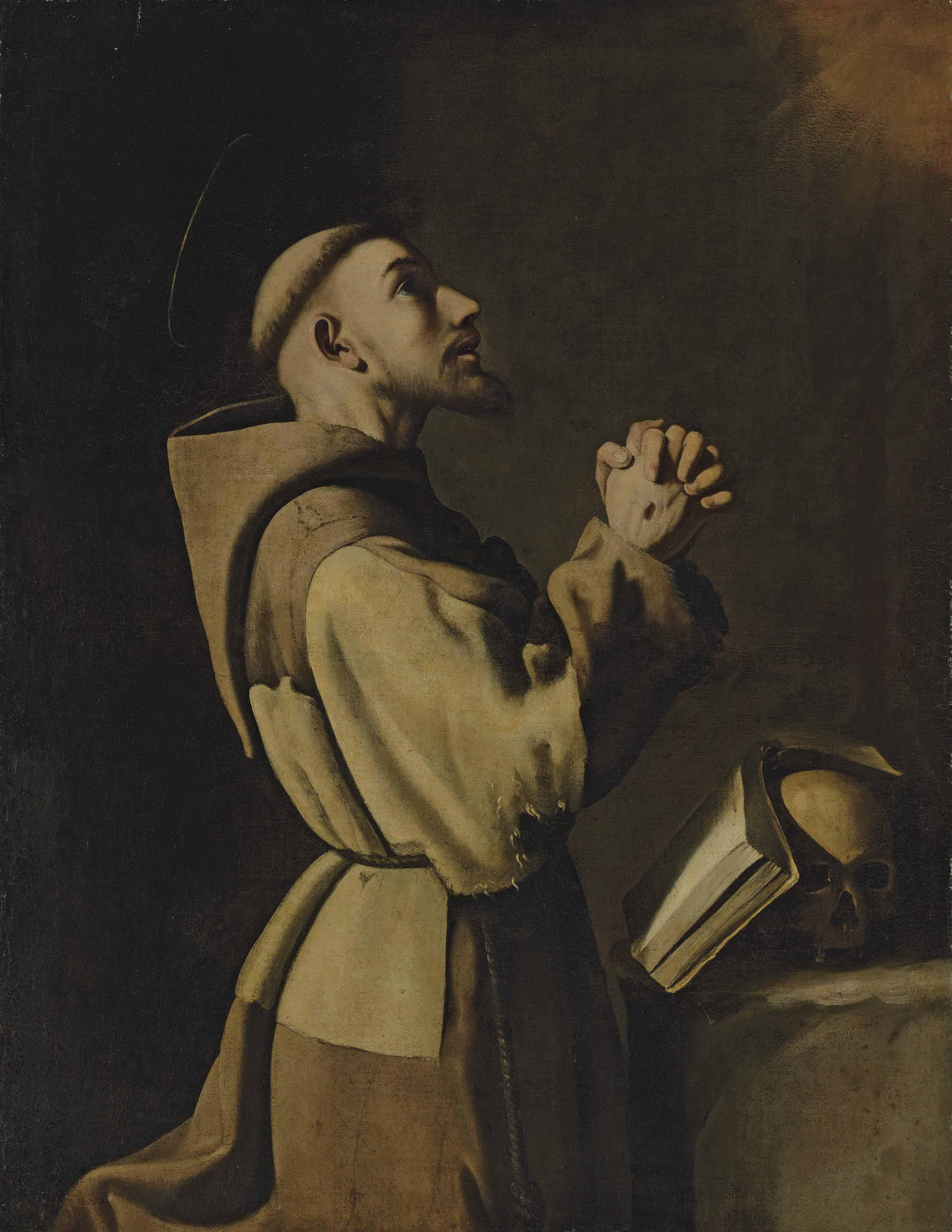 Saint Francis of Assisi in Prayer