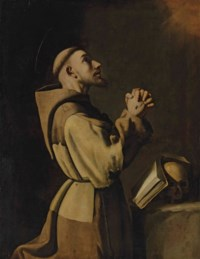 Saint Francis of Assisi in Prayer