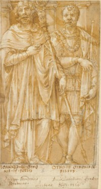 The Guelf ancestors of the House of Este: John, Apostolic Administrator of the Archdiocese of Bremen, and Otto III, sons of Otto II ('the Strict')