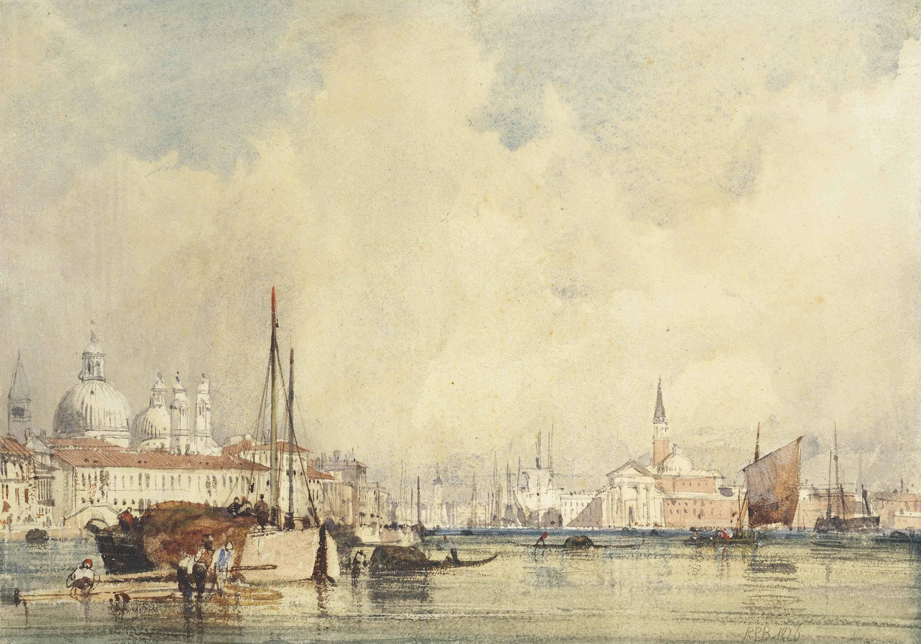 Venice from the Giudecca with San Giorgio Maggiore