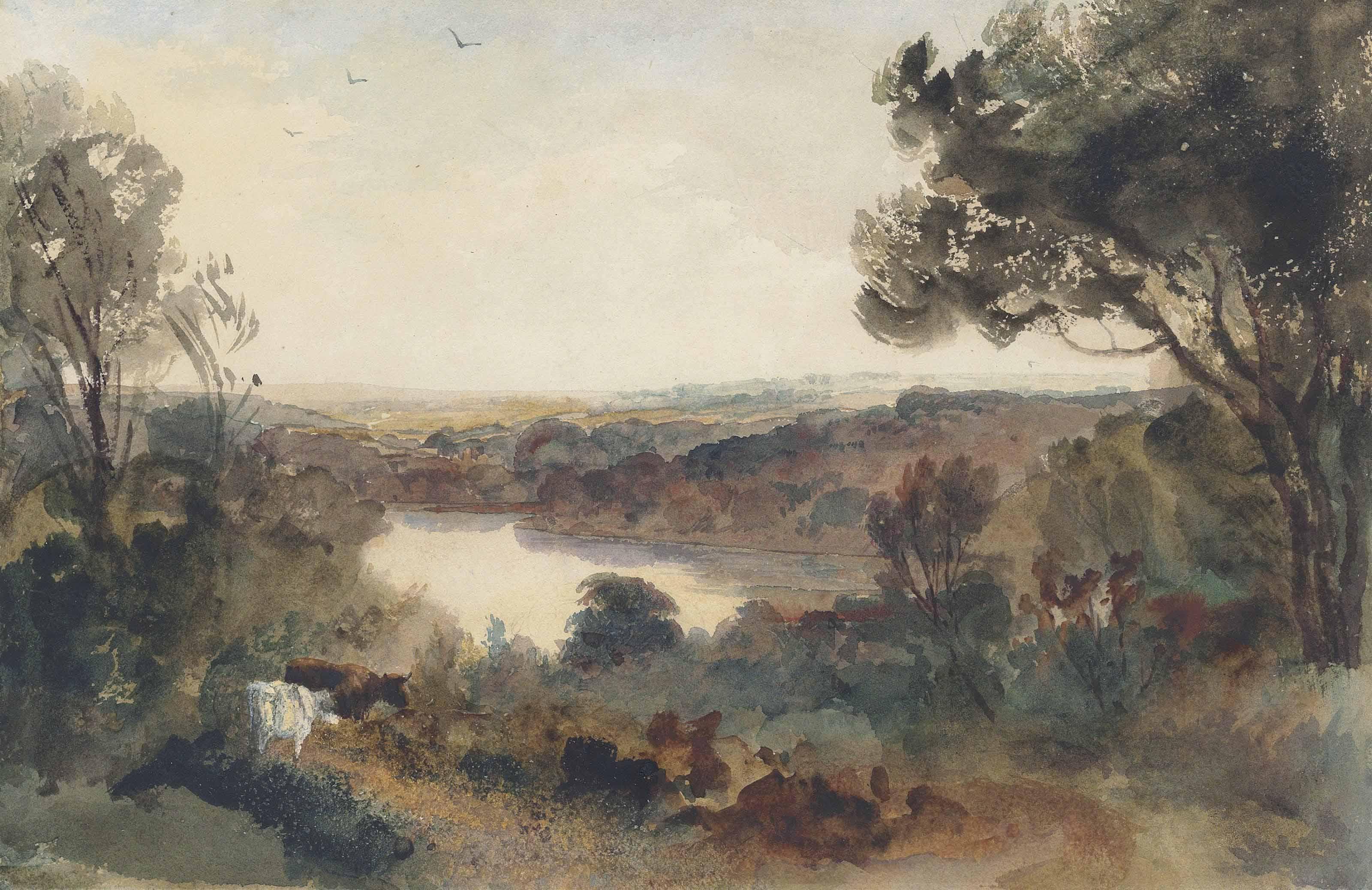 Peter de Wint, O.W.S. (Hanley 1784-1849 London)