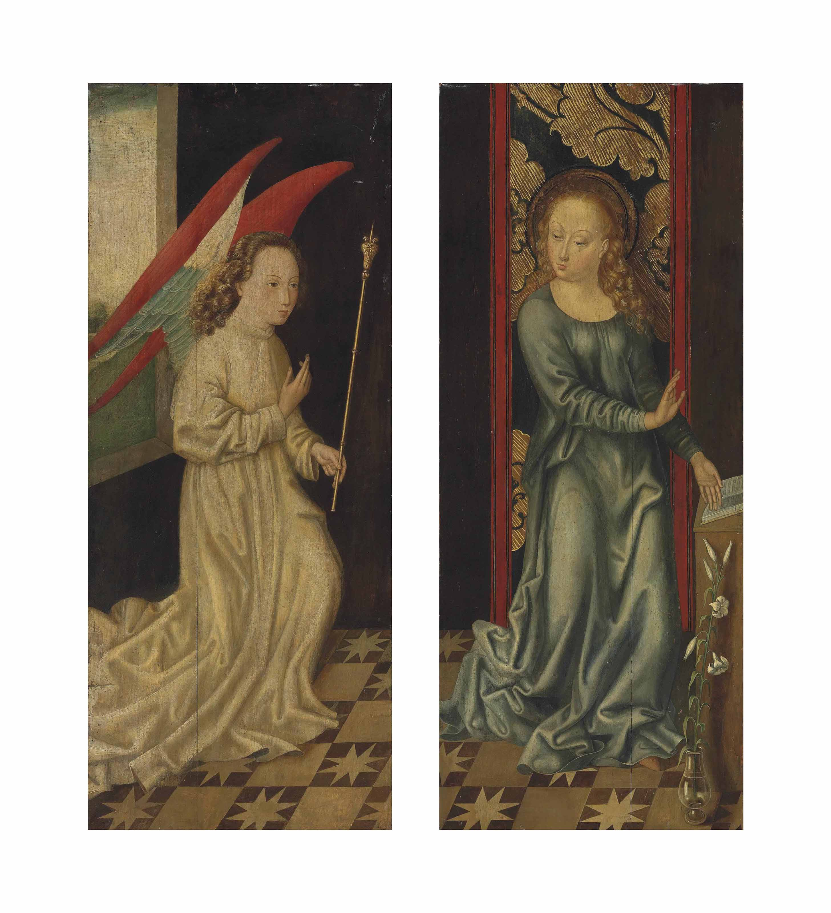 The Archangel Gabriel; and The Virgin Annunciate
