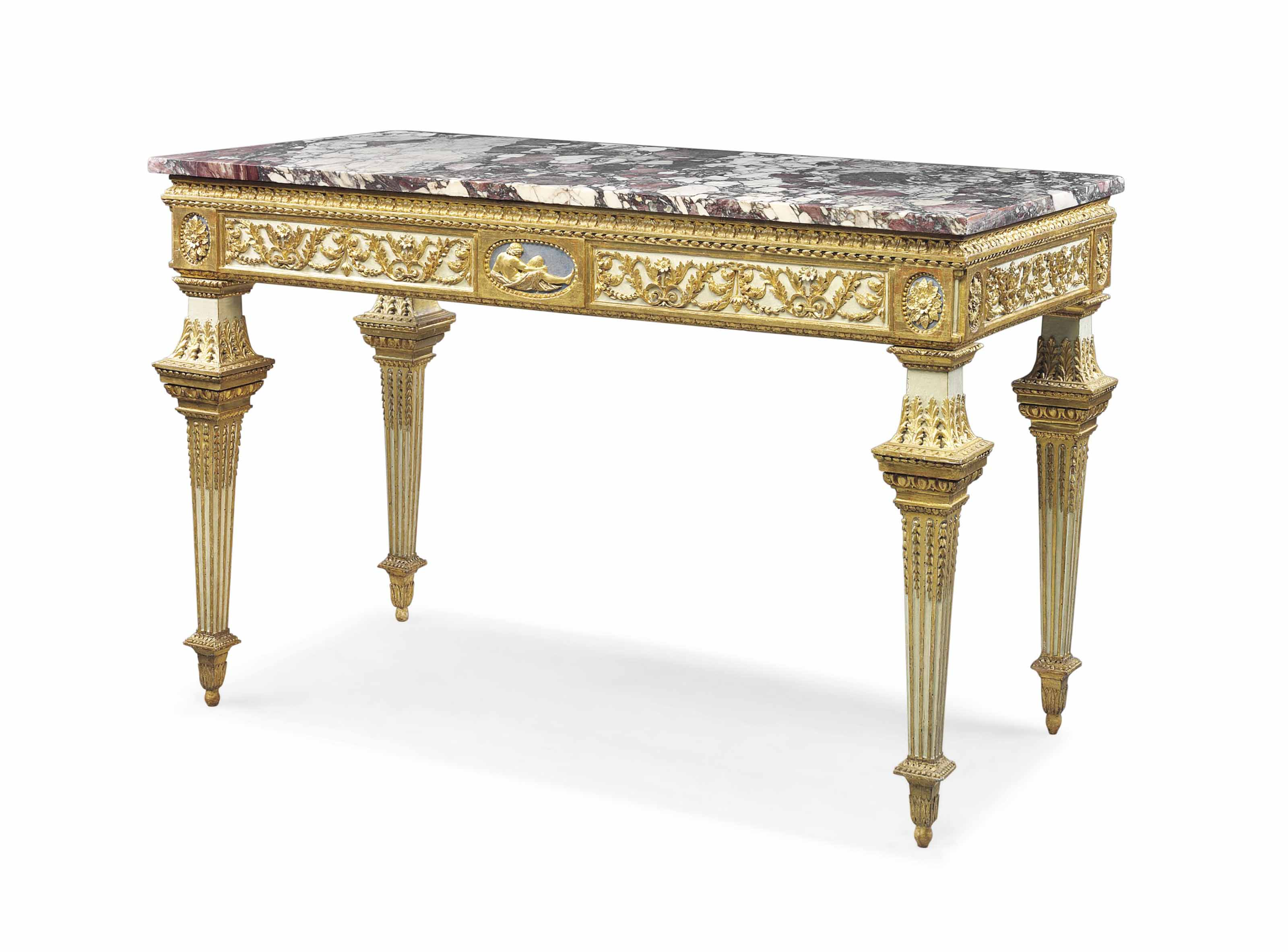 AN NORTH ITALIAN PARCEL-GILT A