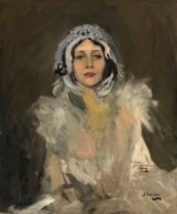 Anna Pavlova as The Swan (Study)