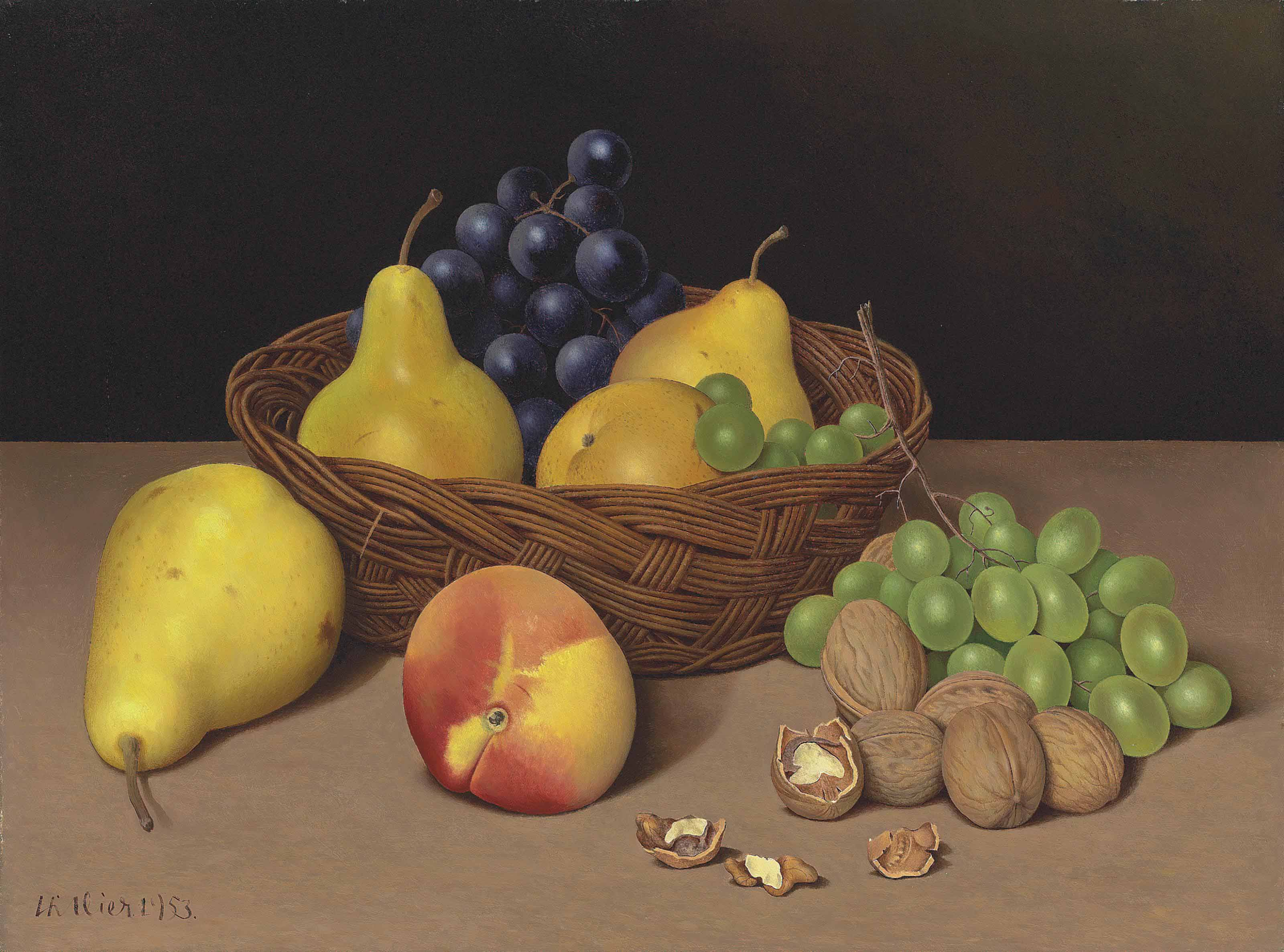 The Basket of Fruit