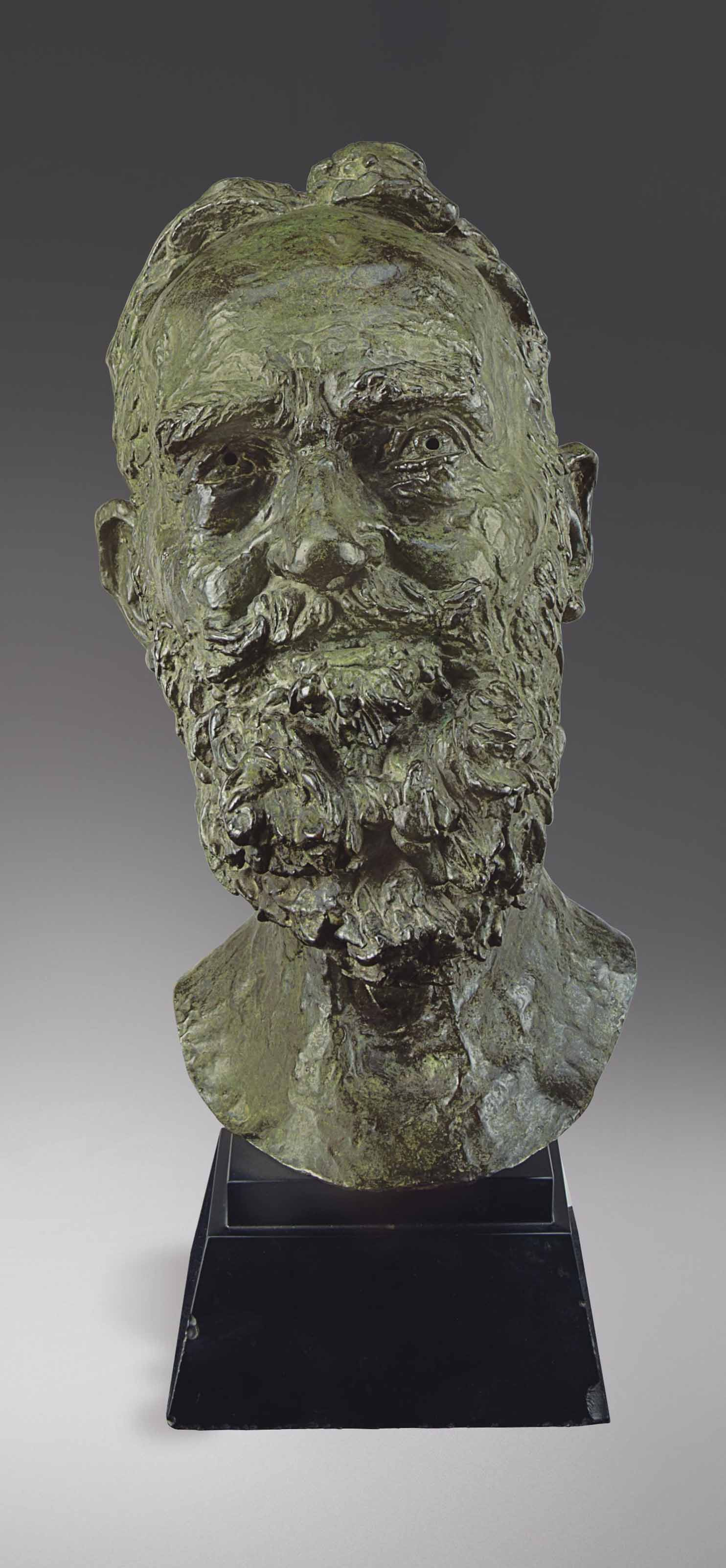 Second Portrait of George Bernard Shaw (head)