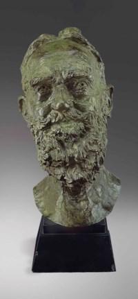 Second Portrait of George Bernard Shaw (head)