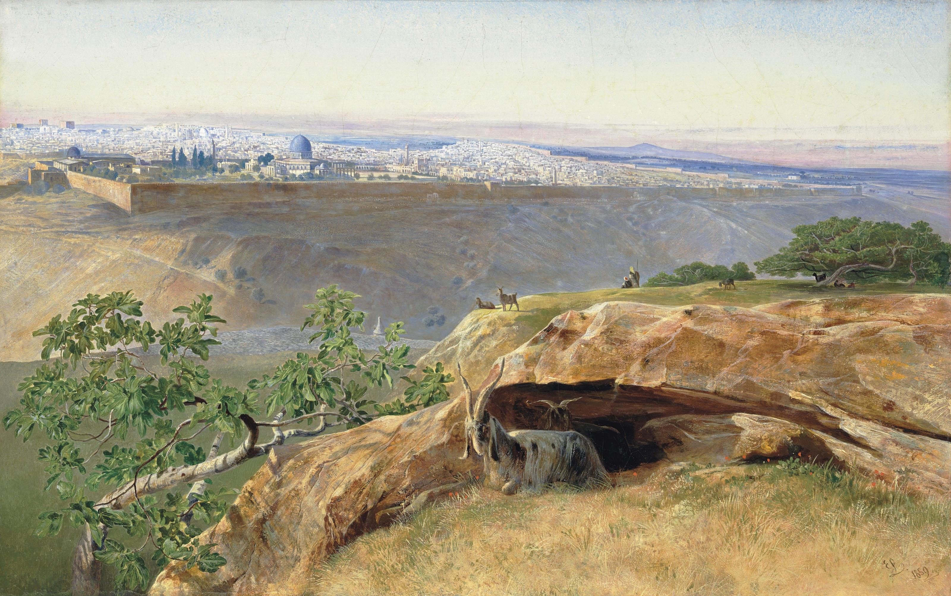 Jerusalem looking North West