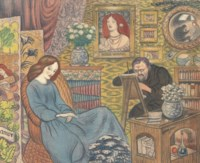 Rossetti painting 'lovely guggums'