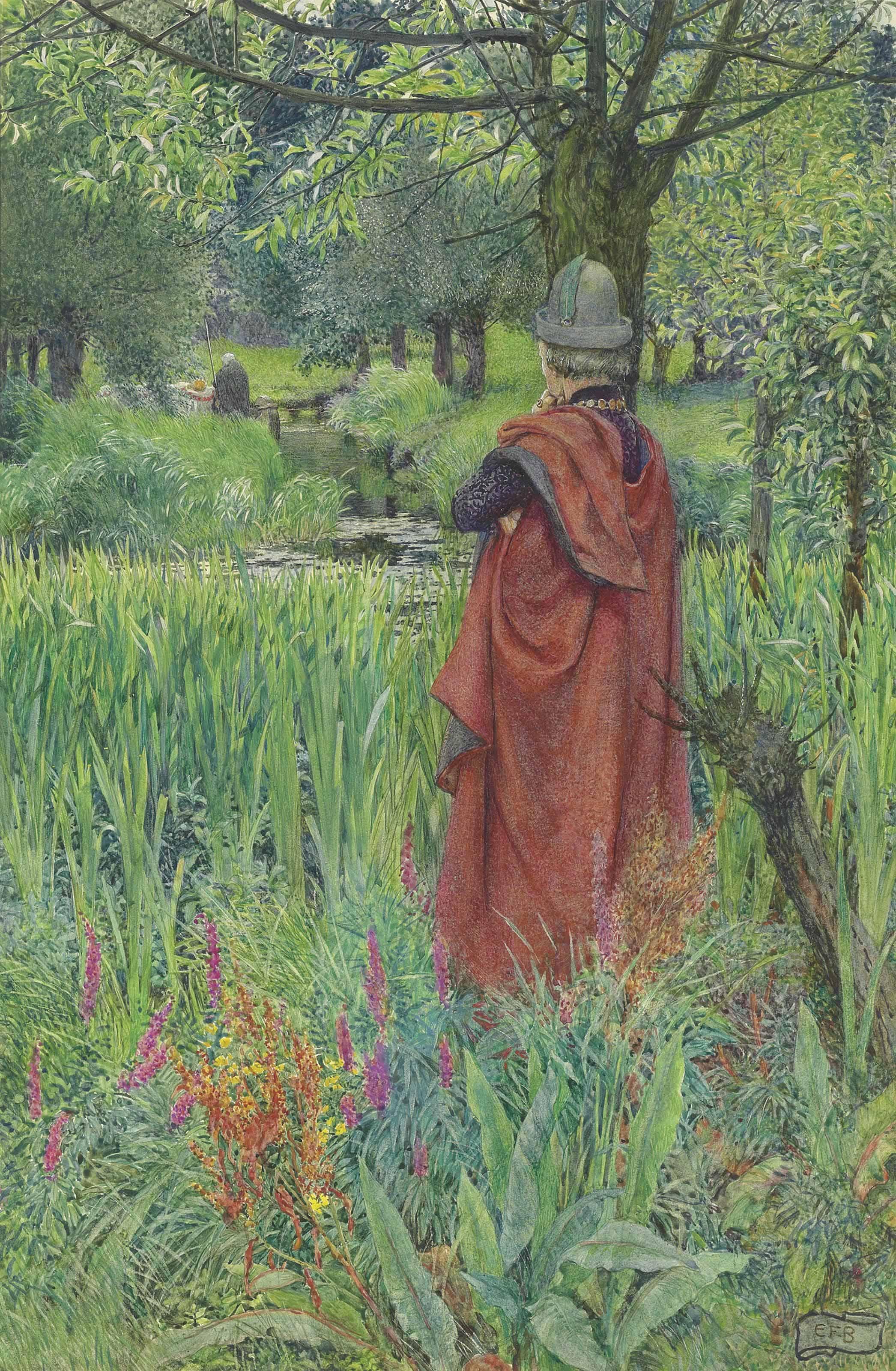 Lancelot and Elaine: Farewell, fair Lily