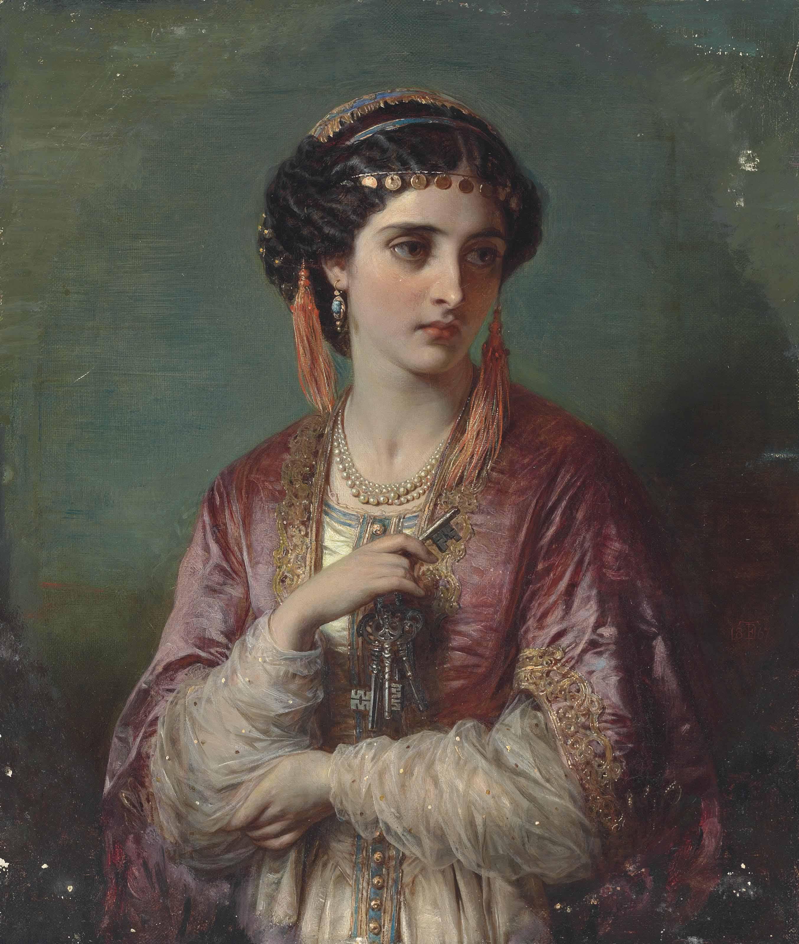 Thomas Francis Dicksee (1819-1895)