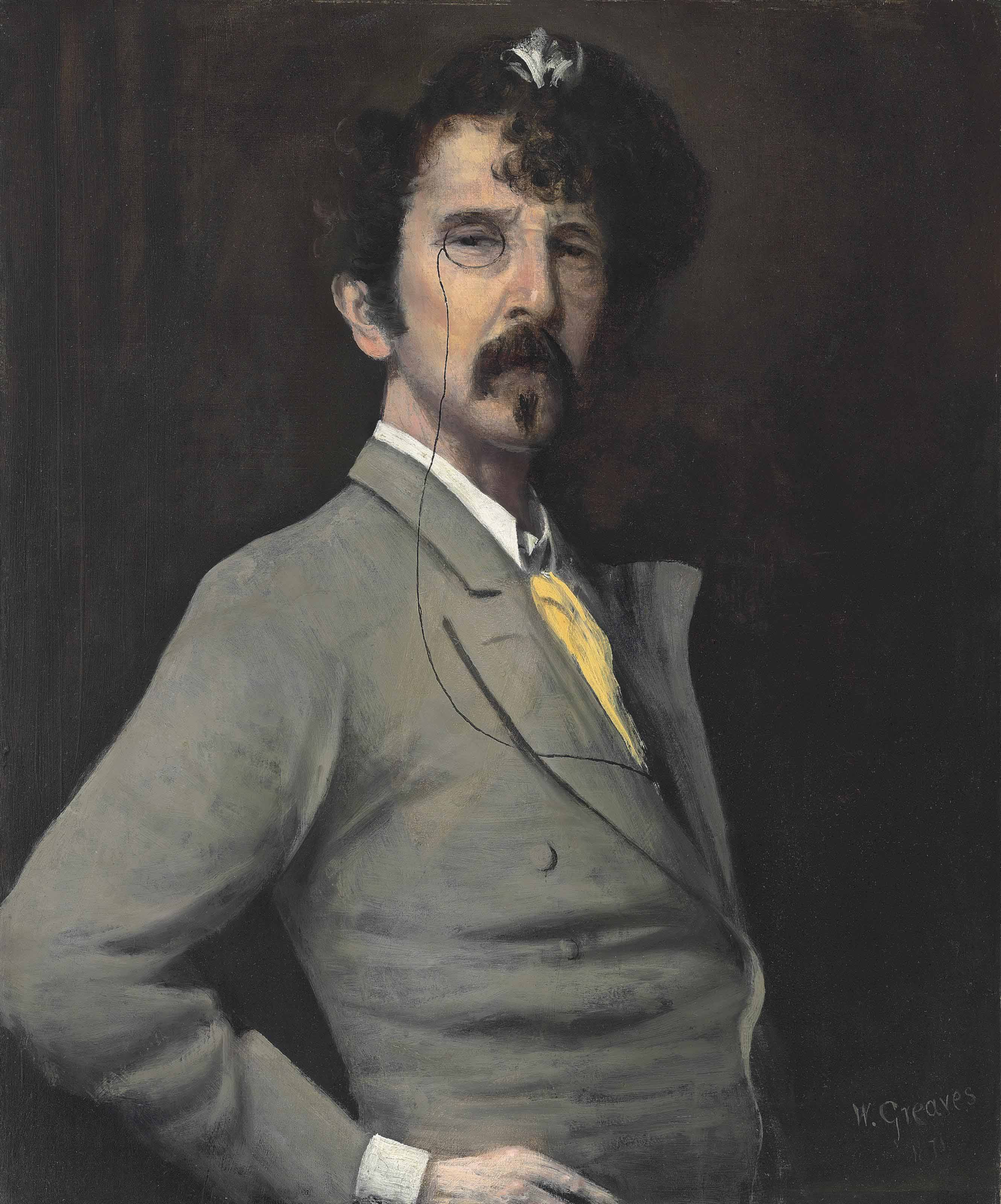 Portrait of James McNeill Whistler