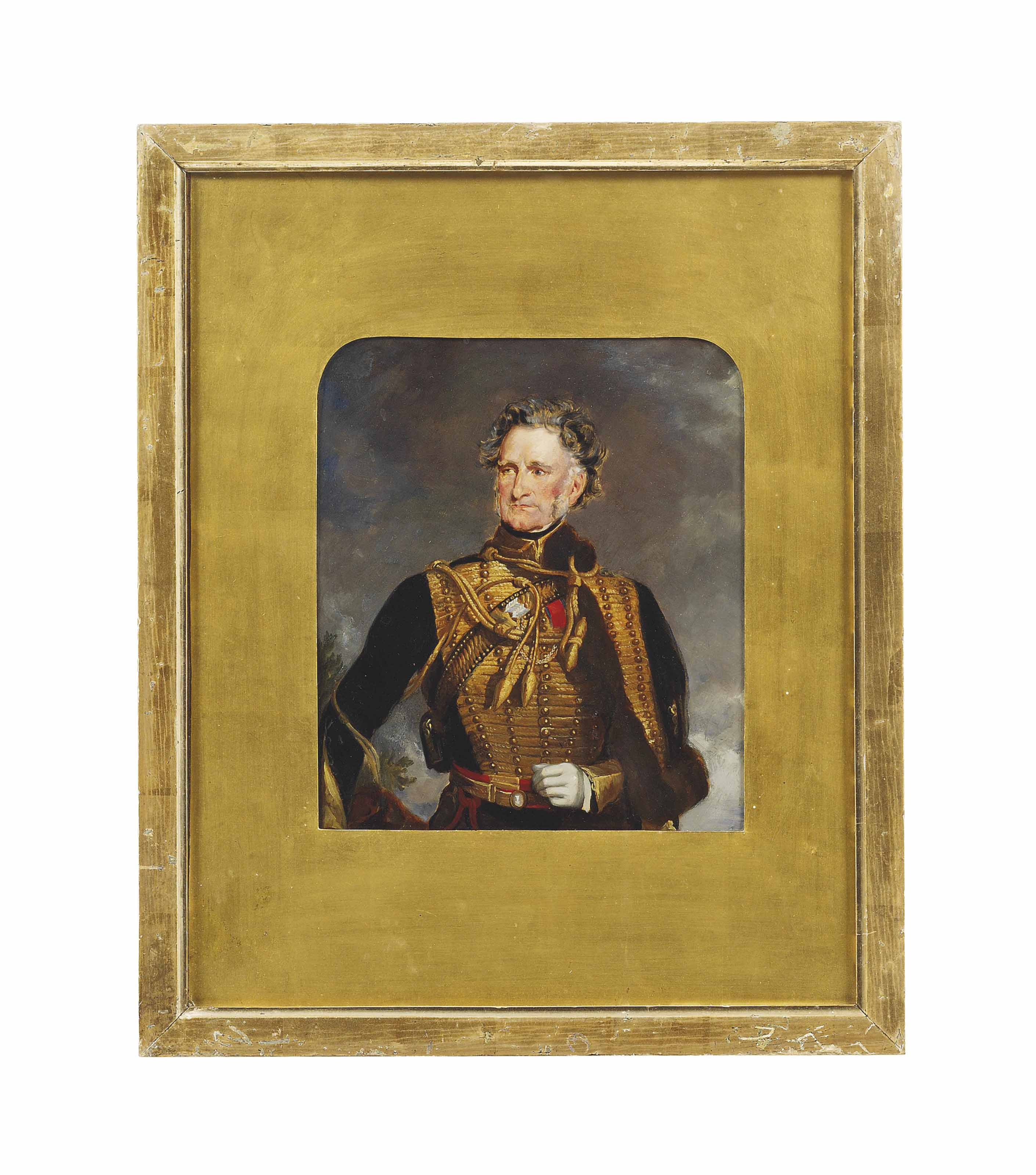 Portrait of General Henry Beauchamp Lygon, 4th Earl Beauchamp (1784-1863), three-quarter-length, in the uniform of the 1st Life Guards
