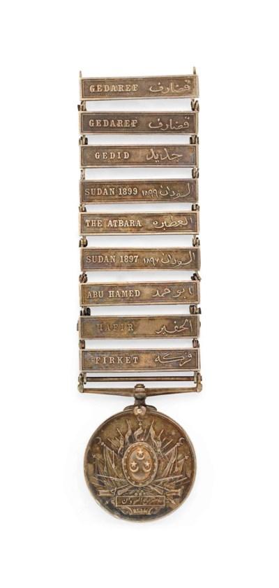 Khedive's Sudan Medal 1896, ni