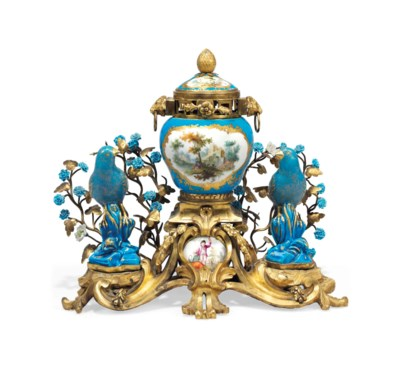 AN ORMOLU-MOUNTED VINCENNES, S