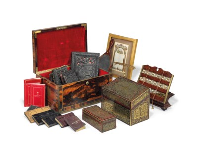 A COLLECTION OF VICTORIAN OBJE